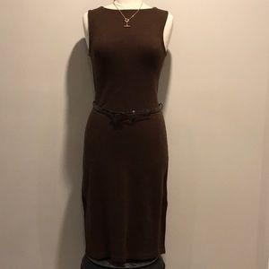 🍁 RALPH LAUREN WOOL/SILK BLEND CLASSIC DRESS